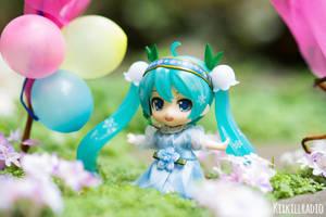 Miku's Birthday Dress by kixkillradio