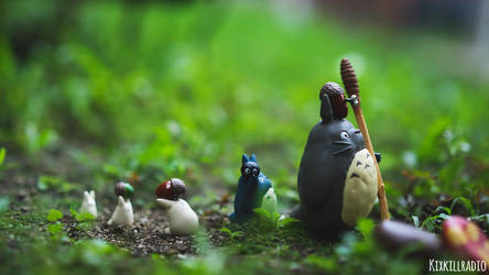 My Neighbor Totoro by kixkillradio