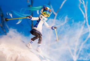 Miku goes skiing by kixkillradio