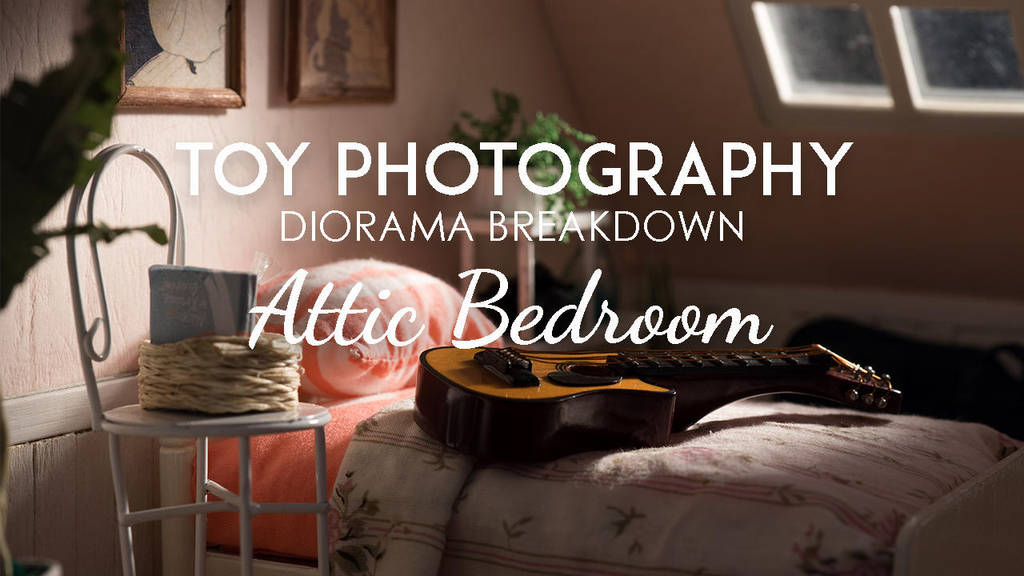 Diorama Breakdown: Attic Bedroom by kixkillradio