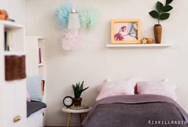 Miniature Bedroom by kixkillradio