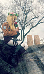 SnK Cosplay, Christa: Last Scent by ShuXin