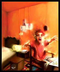 Scare by DeevArt