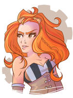 Becky Lynch by JekyllDraws