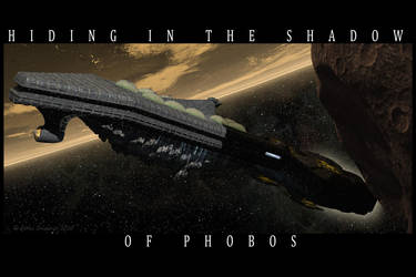 Hiding in the Shadow of Phobos by bhippy