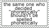 Phonetic Stamp by Sheikah-ness