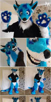 Dragon Pup half-suit by Adele-Waldrom