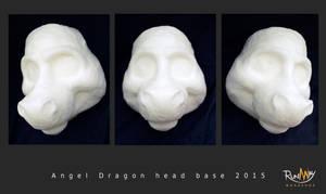Angel dragon foam head base by Adele-Waldrom