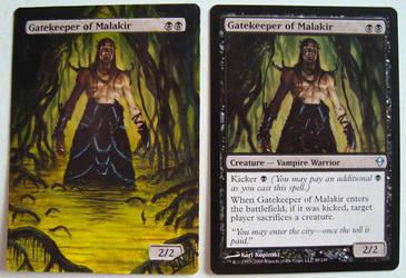 MTG Gatekeeper of Malakir by Kristian-Nusser