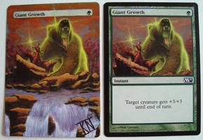 MTG Giant Growth by Kristian-Nusser