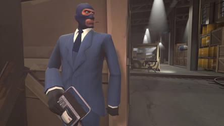 The New Spy. by Themasterwolf