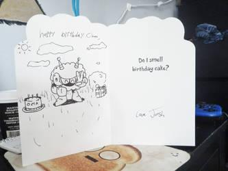 Do I Smell Birthday Cake? by JOSHDILISI