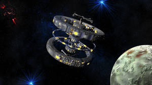Space Station Alpha by AlienArt77
