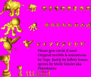 Golden Animal Buddies compilation by Phyreburnz