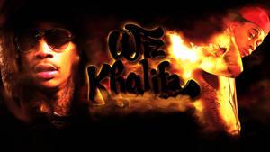 Wiz Khalifa Wallpaper by JSWoodhams