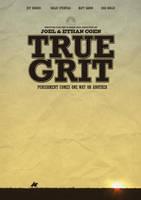 True Grit Movie Poster - Fan Art by JSWoodhams