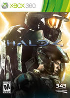 Halo 4 Game Case Artwork by JSWoodhams