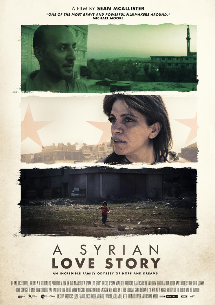 A Syrian Love Story Key-Art by JSWoodhams