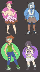 Miscellaneous Adopts! //PRICE LOWERED\\ (3/4 Open) by flare-the-wolfboy
