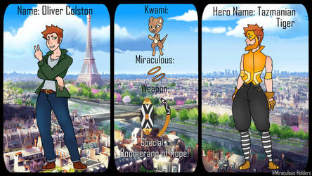 Miraculous Holders Australian Leader Application by flare-the-wolfboy