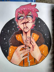 Goretober 2018, Day 1: Nosebleed by flare-the-wolfboy