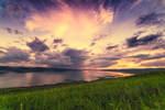 Summer sunset by konstantingl