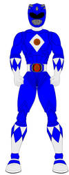 MMPR Movie Blue Ranger by PowerRangersWorld999