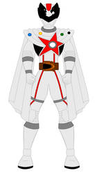 Uchu Sentai Kyuranger - White by PowerRangersWorld999