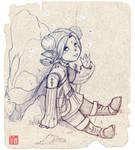 Lalafell - Final Fantasy XIV by mammalfeathers