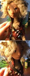 Finn - artdoll - fairy by mammalfeathers