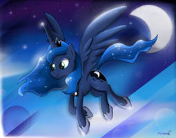 Princess Luna by Milanoss