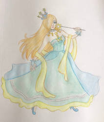 Redesign of Rosalina by DollyDeathany