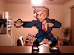 PixelBlocks - The 10th Doctor by lunaalicat