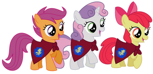 Cutie Mark Crusaders by adcoon
