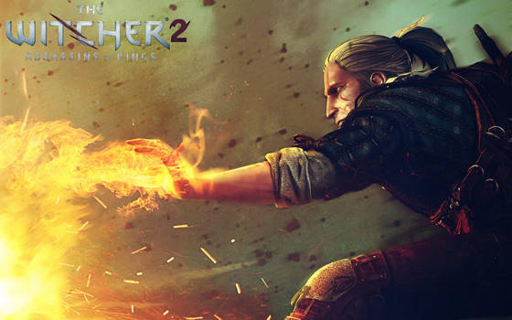 Geralt Igni by Daerdin