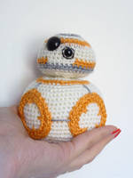 Star Wars BB8 Crochet Pattern by MysteriousCats