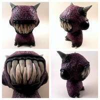 Purple Monster - Customized Munny 1 by ShadowWorkArt