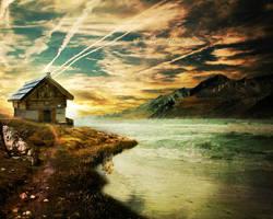 Beneath The Darkened Sky. by TwistedHearts