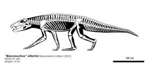 Baurusuchus? albertoi by bLAZZE92