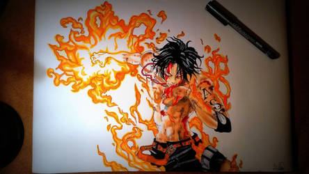 Portags D. Ace by xAlisa-chanx