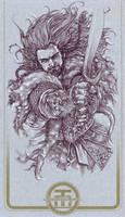 Thorin of Hobbit by harveytolibao