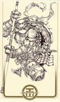 TMNT Donatello by harveytolibao