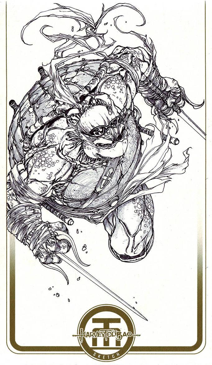 TMNT Raphael by harveytolibao