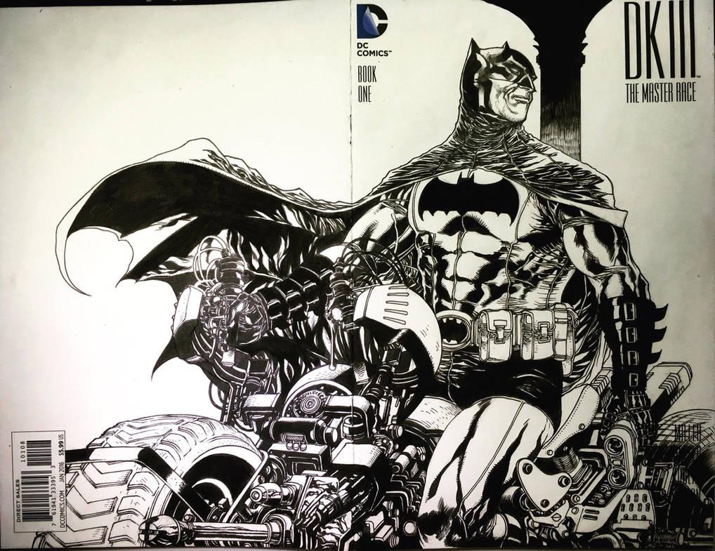 BATMAN blankcover by harveytolibao