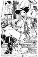 PIRATE LADY by harveytolibao
