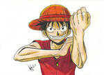 Luffy by suitae