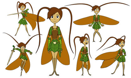 Marnie the Cricket by wormologist