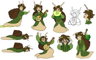 Owen the Snail by wormologist