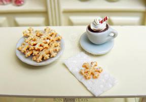 1:12 Snowflake Sugar Cookies by PepperTreeArt