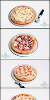 1:12 Pizzas by PepperTreeArt